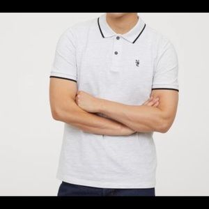 NYC logo H&M Short-Sleeved Polo Shirt
